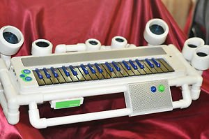 """Blue Man Group Keyboard Experience  Toyquest 2006 Used VGC 26"""" X 11"""""""