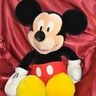 "Disney Large Mickey Mouse Plush 25""H"