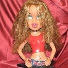 "Bratz MGA Entertainment Design Makeup Hair Mannequin Head Star Base 14"""