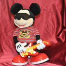 Disney Rock and Roll Mickey Mouse Dances and Sings While Holding Guitar! 13""