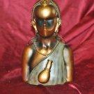 "African Tribal Statue Decorative Female Sculpture Art 11"" X 7"""