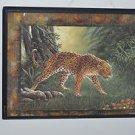 "Jaguar Animal Wall Plaque 14"" X 11"""