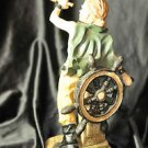 Navy Pirate Sailor Statue Adult Pirates Boat Steering Wheel Resin Material 11''