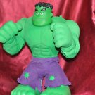 THE INCREDIBLE HULK 13'' MODEL Battery Operated He Talks
