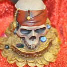 DISNEY STORE PIRATES OF THE CARIBBEAN THE MOVIE BANK SKULL AND DAGGERS