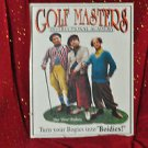 "THREE STOOGES Golf Masters ""Bogies Into Boidies"" TIN SIGN Golf Poster TV Print"