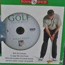 The Simply Golf Back to Basics Book & DVD Steve Bann 2006, Sports & Education