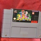 Super Nintendo Mighty Morphin Power Rangers - SNES - Free Shipping