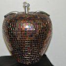Decorative Multicolor Crystal Apple Made in India Ceramic and Multi-Color