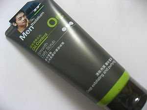 Mentholatum for Men Oil Control Deep Exfoliating and Purifying Face Wash 100ml