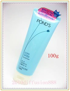 *NEW* POND'S Pore White Facial Cleansing Foam Cleanser 100g *NEW*