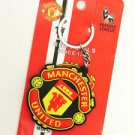 MANCHESTER UNITED *BIG SIZE* KEYFOB KEYCHAIN COLLECTIBLE GREAT GIFT DOUBLE-SIDE