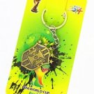 2014 FIFA WORLD CUP BRAZIL KEYFOB KEYCHAIN COLLECTIBLE GREAT GIFT NEW
