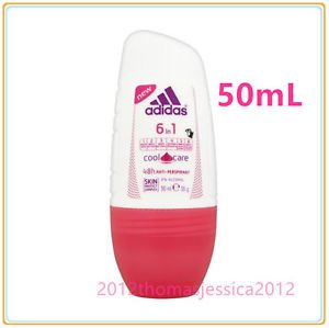 Adidas For Women 6 in1 Cool & Care Antiperspirant Deodorant  48H Protection 50ML
