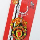MANCHESTER UNITED KEYFOB KEYCHAIN COLLECTIBLE GREAT GIFT DOUBLE-SIDE