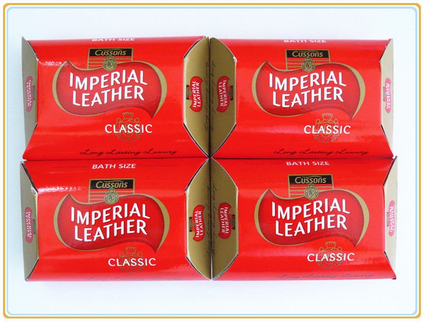 New Cussons Imperial Leather Classic Soap Long Lasting Luxury 115g X 4