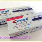 2 X Crest 3D White Brilliance Vibrant Peppermint Whitening Toothpaste 4.1oz.