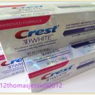 3 X Crest 3D White Brilliance Vibrant Peppermint Whitening Toothpaste 116g/4.1oz