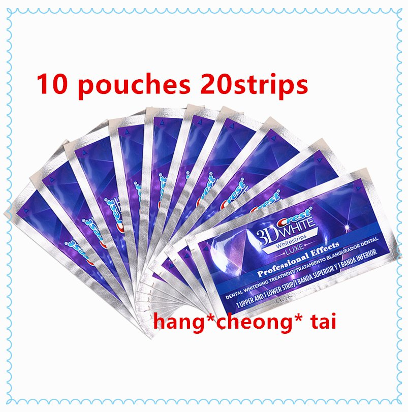 Crest3D White White strips Professional Effects 10 Pouches