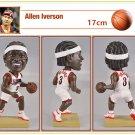 Philadelphia 76ers #3 Allen Ezail Iverson Bobblehead Figure 17cm Tall