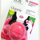 EOS Organic Strawberry Sorbet (Improved Formula) Lip Balm(0.25 oz)  Made in USA