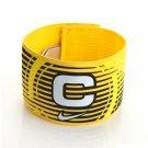 Nike Captain Band Soccer Football Arm bands captainband banding sports Yellow Color
