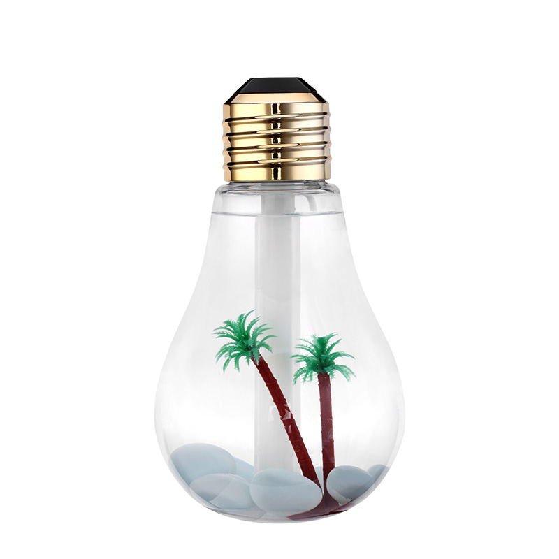 USB Ultrasonic Humidifier  Mini Aroma Diffuser LED Night Light