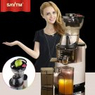 SAVTM Home/Commercial Fruit Electric Whole Slow Juicer Machine with Germany AC Motor