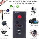 Anti-Spy Signal RF Bug Hidden Spy Detector Camera Lens GSM Device Tracer Finder