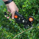 Garden Fruit Tree Pro Pruning Shears Scissor Grafting Cutting Tool + 2 Blades