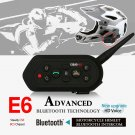 Pair Of EJEAS-E6 Motorcycle Bluetooth Helmet Intercom Wireless For 6 Users