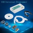 TL866CS USB Universal Programmer FLASH 8051 AVR MCU GAL PIC SPI 5 Adapters