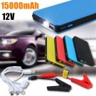 Top 20000mAh Mini Portable Car Jump Starter Power Battery Charger Clamps Bank