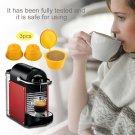 3 Pcs/Set Reusable Capsule Pod Cup Coffee Filter Baskets Kitchen Tool Economical