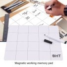 Universal Magnetic Design Screw Sort Guard Keeper Mat For Repairing Phone