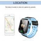 Kids Wristwatch Touch Screen GPRS Locator Tracker Anti-Lost Smartwatch NEW
