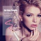 12PCS Lot Colors Professional Lipliner Waterproof Lip Liner Pencil Makeup Set