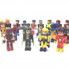 Lot 19pcs Figurine Minimates MARVEL LEGENDS Mini Mates Action Figures Toys