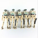 "5x Star Wars TCW Clone Wars TX-21 Tactical Droid from 501st At-rt 3.75"" Figures"