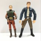 Padme Amidala &  HAN SOLO Star Wars Attack of The Clones Action Figure Toy