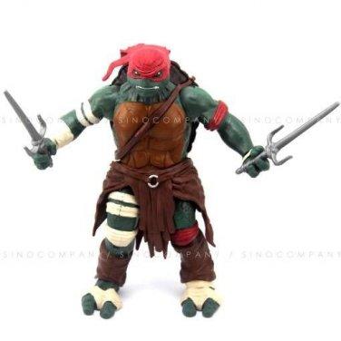 TMNT TEENAGE MUTANT NINJA TURTLES Raphael 2014 Figure Toy (12'')