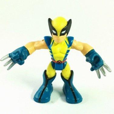 """Playskool Heroes WOLVERINE 2.5"""" Marvel Super Hero Adventures Action Figure"""