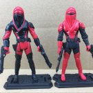 "Star Wars Royal Guard Red Senate Security Twins Brother 3.75"" Action Figures Toy"