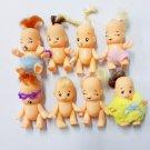 Random 5x Kewpie Dolls Toys cute baby Figurine Toddler Newborn nursery baby