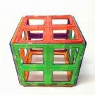 4pcs Magnetic Building Toys Construction Blocks Large Square Bricks EA150
