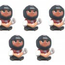 5pcs NHL Hockey Teenymates GOALIES Series 2 Montreal Canadiens Sports Mem Figure