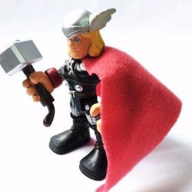 PlaySkool Heroes THOR Marvel Avengers Super Hero Action Figure Boys Toys QA22