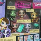 Littlest Pet Shop Figure Animals Hasbro Hot Toys #3836-#3840 New in box QA81