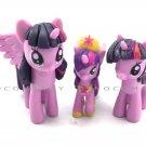 3 x Hasbro My Little Pony Friendship is Magic Princess Twilight Sparkle Kids Toy