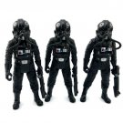 3x Star Wars Vintage Collection Revenge of the Jedi TIE Fighter Pilot VC65 toy